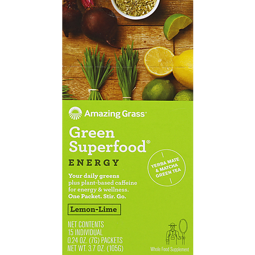 Amazing Grass Energy Gsf - Packets