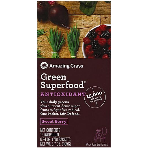 Amazing Grass Superfood - Orac Sweet Berry