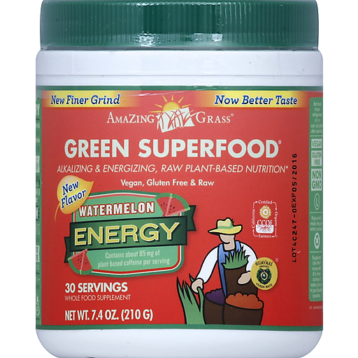 Amazing Grass Energy Watermelon Gsf- 30 Servings
