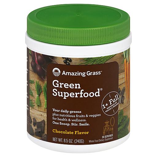 Amazing Grass Superfood Choc Drink Powder