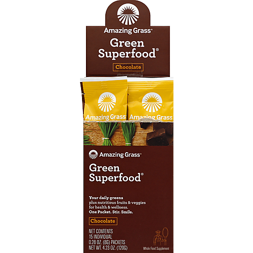 Amazing Grass Chocolate Gsf - Single