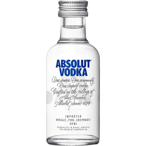 Absolut® Vodka 50mL Bottle