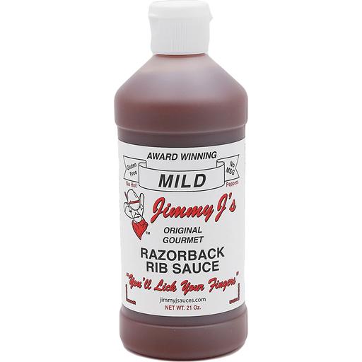 Jimmy J's Razorback Rib Sauce Mild