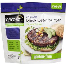 f302ab42356 Gardein GlutenFree Chipotle Black Bean Burger