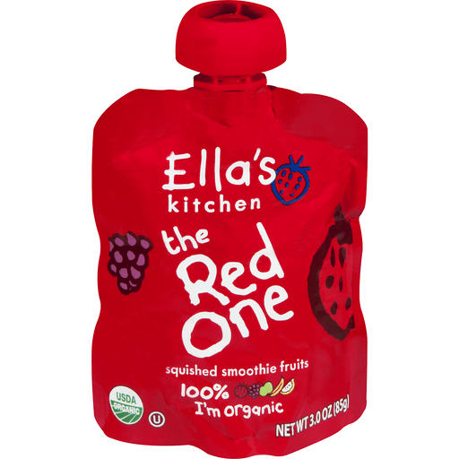 Ellas Kitchen Smoothie Fruits, Squished, The Red One, Over 6 Months