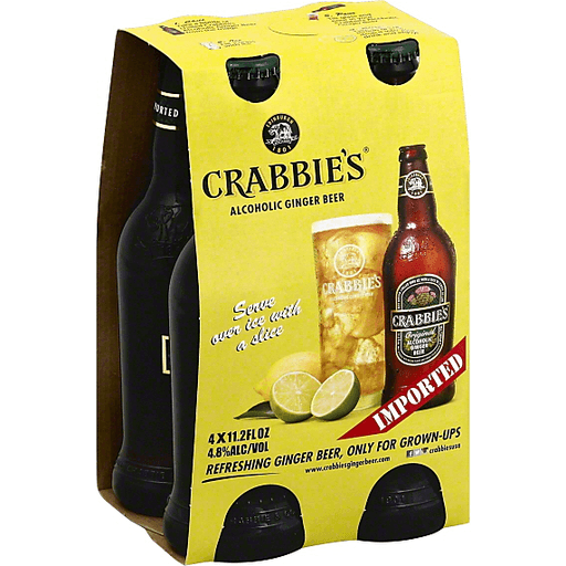Crabbies Ginger Beer, Alcoholic