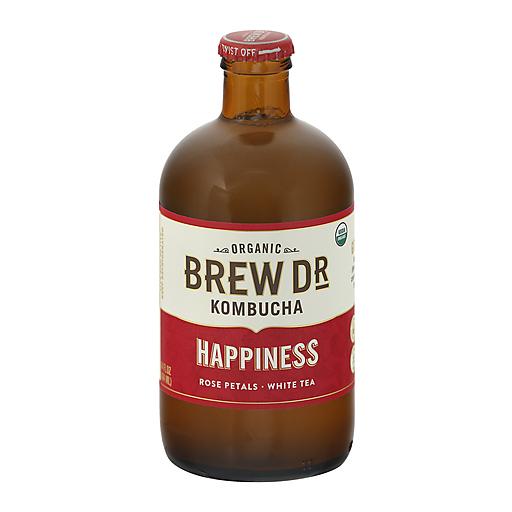 Brew Dr Kombucha Kombucha, Organic, Happiness