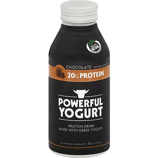 Powerful Yogurt Drink Chocolate