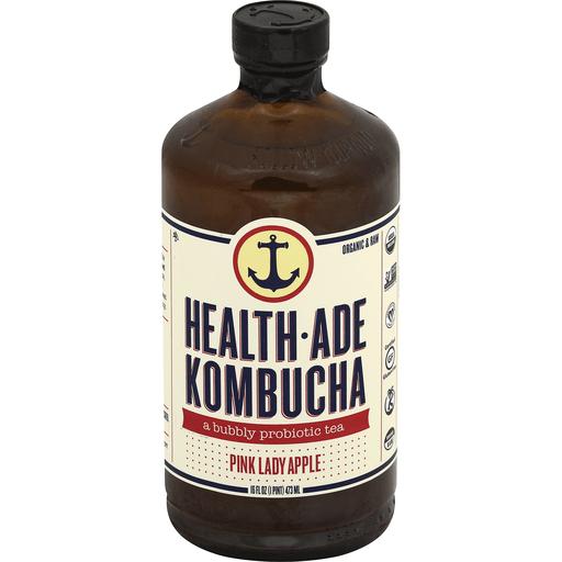 Health Ade Kombucha, Pink Lady Apple