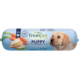 Freshpet® Select Chicken, Egg, & Vegetable Growth and Development Recipe Slice & Serve Roll Puppy Food 1.5 lb. Pack