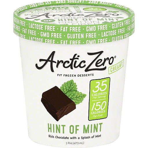 Arctic Zero Frozen Dessert, Hint of