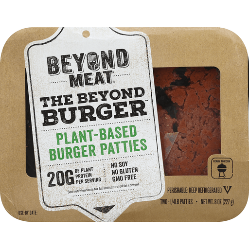 Beyond Meat Plant-Based Burger Patties - 2 CT