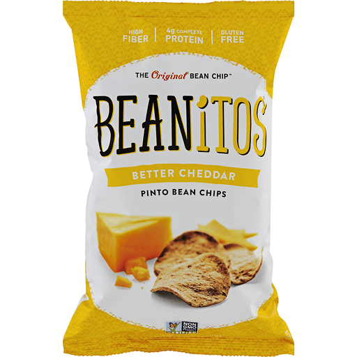 Beanitos Pinto Bean Chips, Better Cheddar & Sour Cream