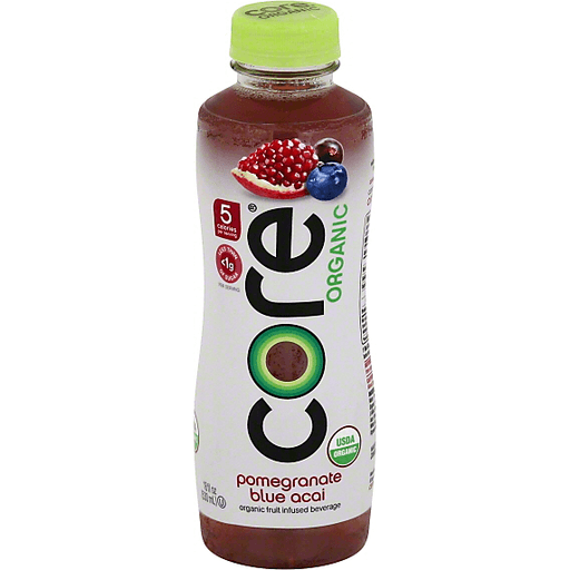 Core Organic Beverage Organic Pomegranate Blue Acai Juice