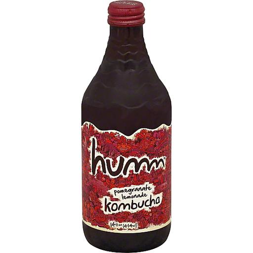 Humm Kombucha, Pomegranate Lemonade