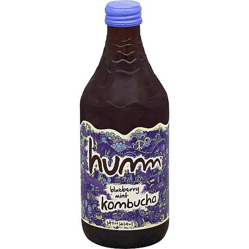 Humm Kombucha, Blueberry Mint