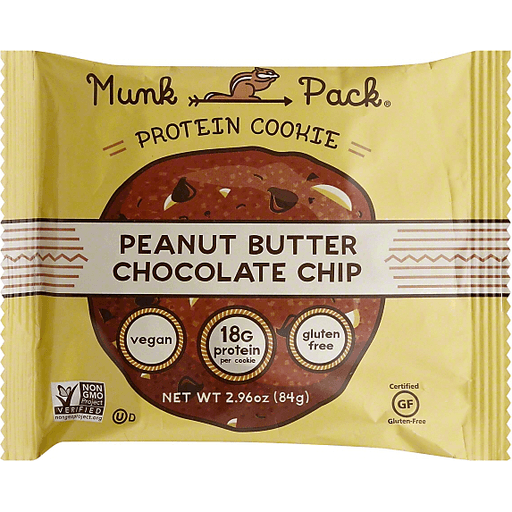 Munk Pack Protein Cookie, Peanut Butter Chocolate Chip