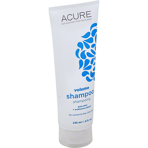 Acure Shampoo, Volume, For Normal To Fine/Limp Hair