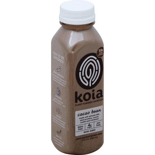 Koia Protein Drink, Plant-Powered, Cacao Bean