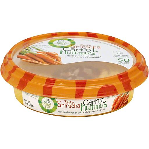 Lantana Hummus Sriracha Carrot