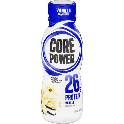 Core Power Milk Shake, High Protein, Vanilla