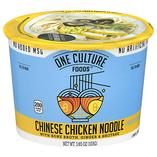 One Culture Chinese Chicken Noodle Soup