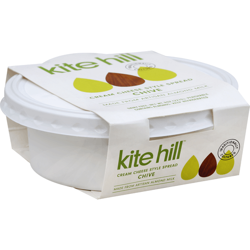 Kite Hill Cream Cheese Style Spread, Chive
