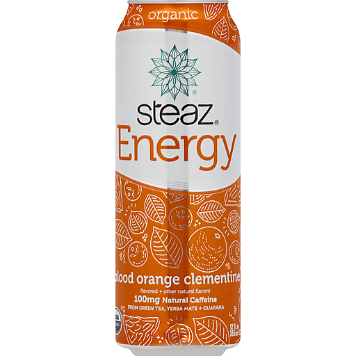 Steaz Energy Drink - Orange Orange