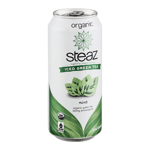 Steaz Green Tea, Iced Teaz, Mint