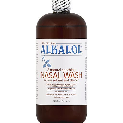 Alkalol Mucus Solvent Nasal Wash