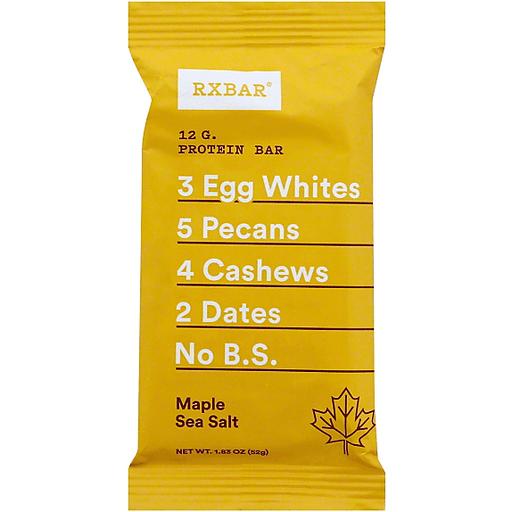 RxBar Protein Bar, Maple Sea Salt