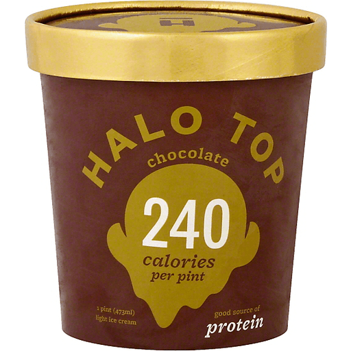 Halo Top Light Ice Cream Chocolate