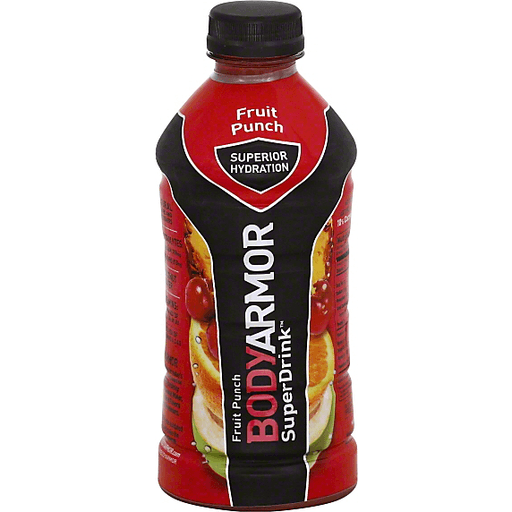 BodyArmor SuperDrink, Fruit Punch
