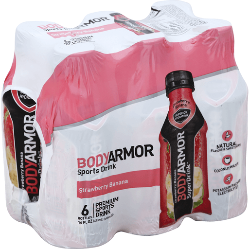 BodyArmor Sports Drink, Premium, Strawberry Banana