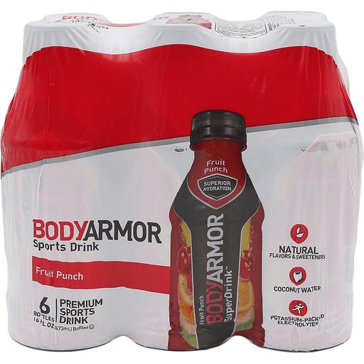 Body Armor Fruit Punch 6pk