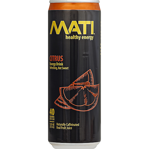 Mati Energy Drink, Citrus