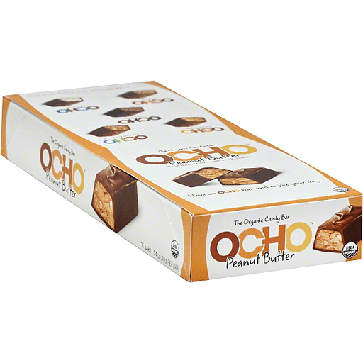Ocho Candy Bar, Peanut Butter