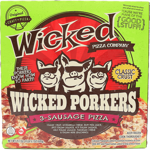 Wicked Porkers Pizza
