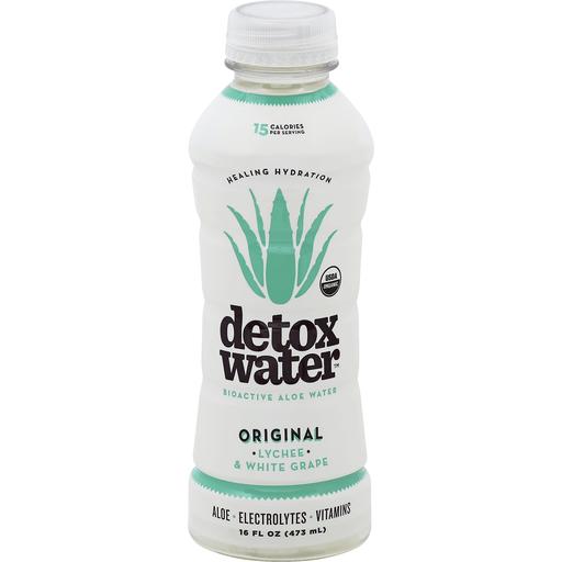 Detox Water Aloe Water, Bioactive, Original