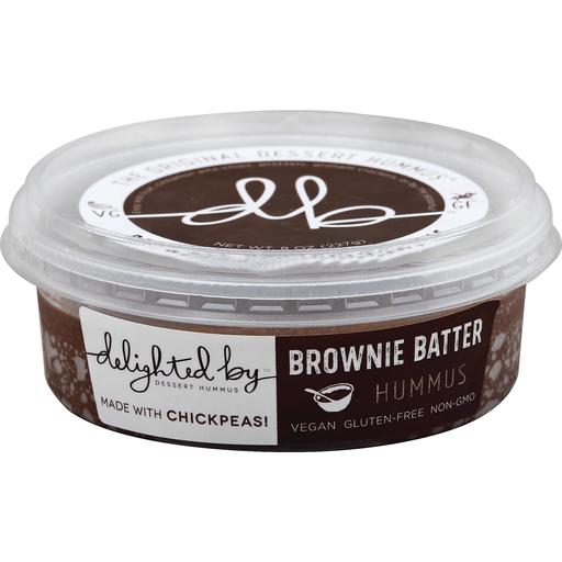 Delighted By Hummus, Dessert, Brownie Batter