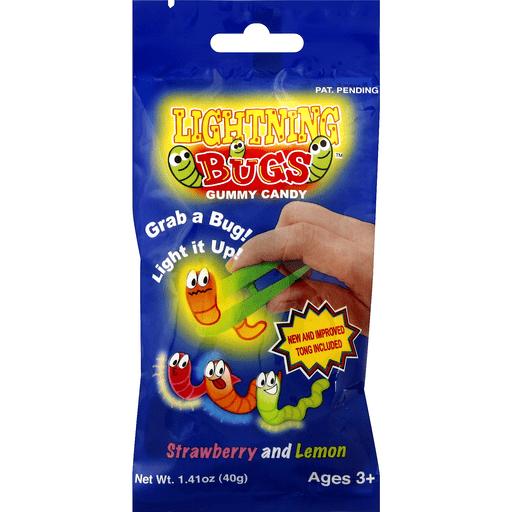 Kandy Kastle Gummy Candy Lightning Bugs Strawberry And Lemon Shop Phelps Market