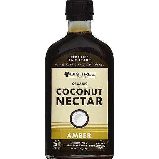 Big Tree Farms Org Amber Coconut Nectar