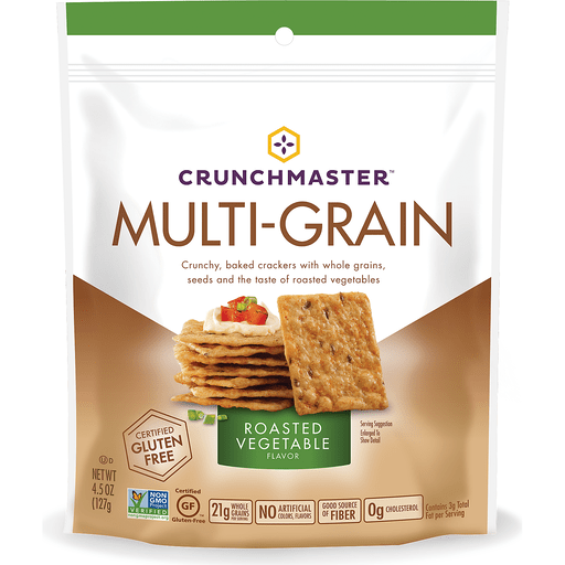 Crunchmaster Multi-Grain Crackers Roasted Vegetable