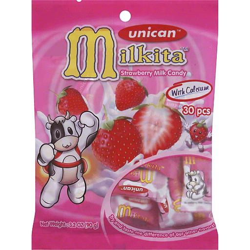 Milkita Strawberry Milk Candy