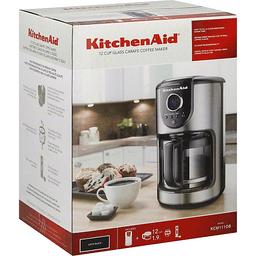 KitchenAid Coffee Maker 12 Cup Onyx Black | Reasors Foods