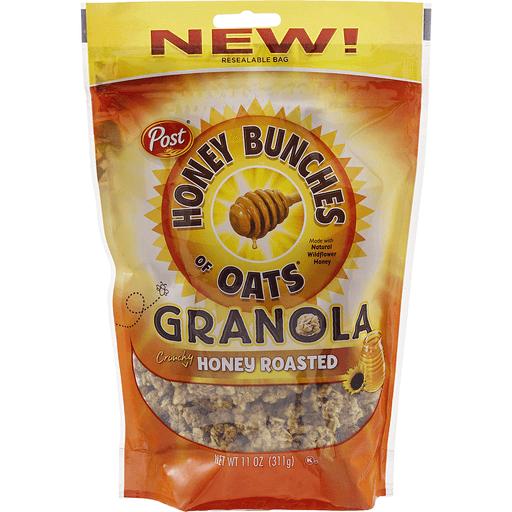 Honey Bunches Granola, Crunchy, Honey Roasted