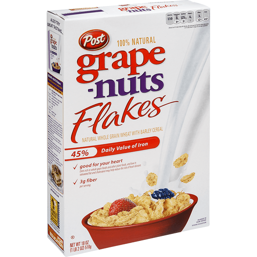 Grape Nuts Cereal, Flakes