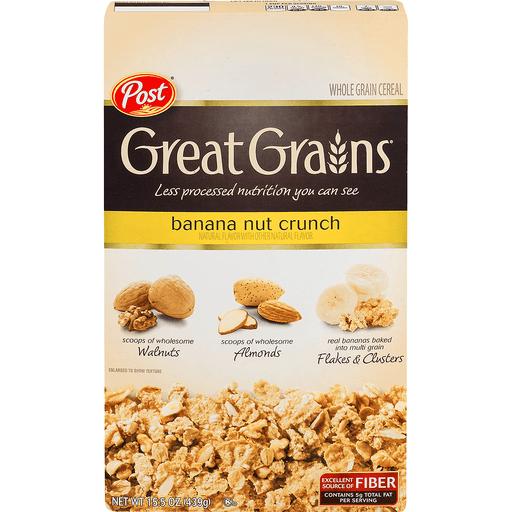 Great Grains Cereal, Banana Nut Crunch