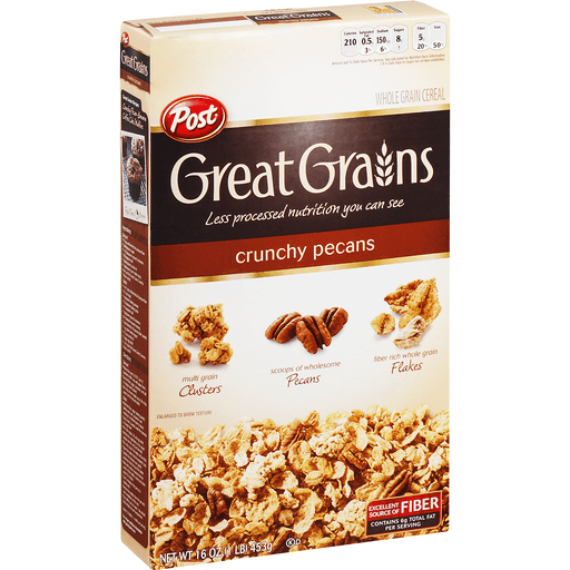 Great Grains Cereal, Whole Grain, Crunchy Pecans