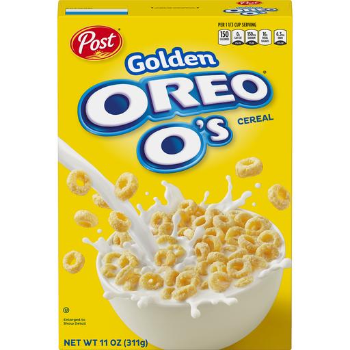 Post® Golden Oreo® O's Cereal 11 Oz. Box
